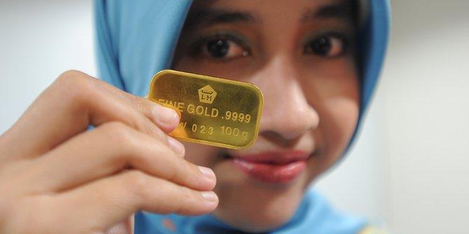Pt Rifan Financindo Bandung Harga Emas Hari Ini Turun Kembali Ke